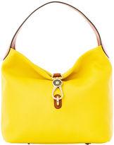 Dooney & Bourke Pebble Grain Logo Lock Shoulder Bag
