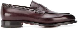 Santoni slip-on loafers