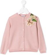 Dolce & Gabbana floral applique cardigan