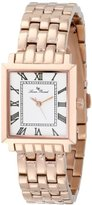 Lucien Piccard Women's LP-10502-RG-22 Bianco Rose Gold Ion-Plated Stainless Steel Watch