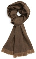 Polo Ralph Lauren Men's Wool Fringe Scarf