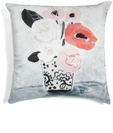Kate Spade White Peony Accent Pillow