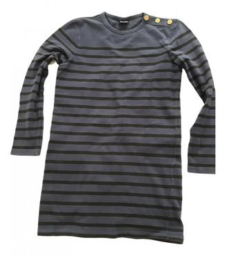 Jean Paul Gaultier Navy Cotton Top for Women