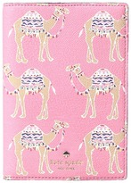 Kate Spade Spice Things Up Camel March Passport Holder Wallet