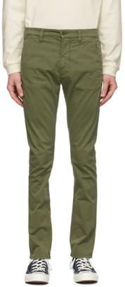 Nudie Jeans Green Slim Adam Trousers