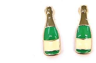 Wild Lilies Jewelry Champagne Stud Earrings