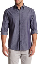 James Campbell Tolson Printed Regular Fit Shirt