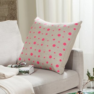 Safavieh Candy Buttons Linen Throw Pillow