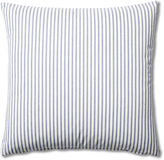 French Laundry Home Ticking 20x20 Cotton Pillow, Blue