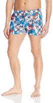 Parke & Ronen Men's Angeleno Print Stretch Swim Short