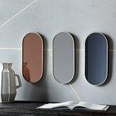 west elm Pill Shaped Mirrors