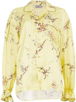 Preen by Thornton Bregazzi floral print pyjama shirt