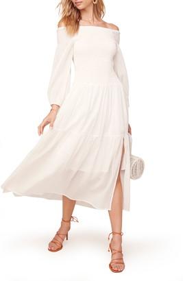 ASTR the Label Utopia Off the Shoulder Dress
