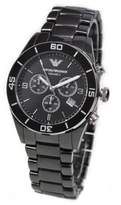 Giorgio Armani Emporio Men's Ceramica AR1421 Ceramic Quartz Watch with Dial