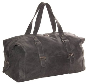 Piel Leather SATCHEL WITH BUCKLES