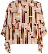 Rachel Comey Reunion peplum-hem silk top