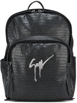 Giuseppe Zanotti Design textured backpack