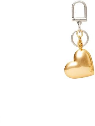 Tory Burch Gold Heart Key Ring