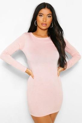 boohoo Petite Glitter Bodycon Dress