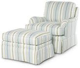 Barclay Butera Deneuve Club Chair & Ottoman Set