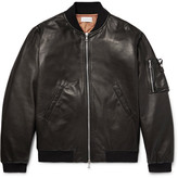 John Elliott - Bogota Leather Bomber Jacket