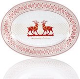 222 Fifth Deelry Loved Oval Platter