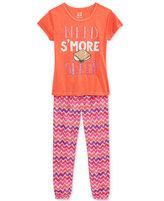 Max & Olivia 2-Pc. Need S'More Sleep Pajama Set, Big Girls (7-16)