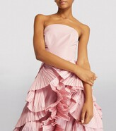 Thumbnail for your product : Maria Lucia Hohan Ruffled Anisia Gown