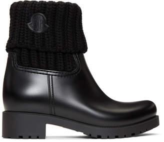 Moncler Black Ginette Boots