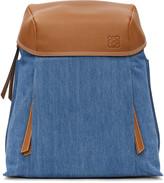 Loewe Blue Denim Small T Backpack