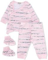 Kenzo tiger stripes trouser set - kids - Cotton - 6 mth