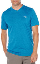Callaway Training Short Sleeve Heather V-Neck Tee