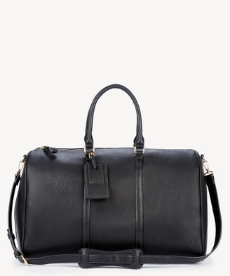 Sole Society Women's Lacie Weekender Vegan Leather In Color: New Black Bag From