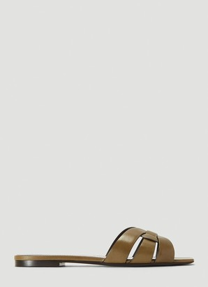 Saint Laurent Nu Pieds Woven Sandals
