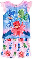 PJ Masks 2-Pc. Pajama Set, Toddler Girls (2T-5T)