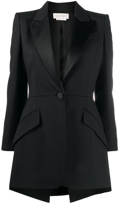 Alexander McQueen High-Low Blazer