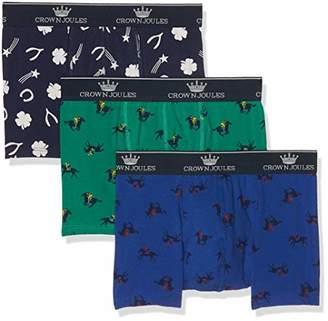 Joules Men's Crown 3 Pack Boxer Briefs