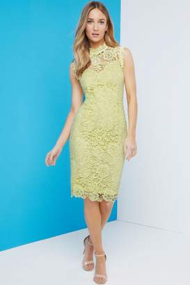 Paper Dolls Outlet Lemon Crochet Dress