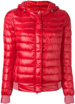Herno hooded puffer jacket - women - Feather Down/Polyamide/Polyester - 42