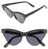 Le Specs Women's 'Kin Ink' 55Mm Sunglasses - Matte Black