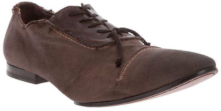 Raparo Frayed edge shoe