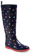 Girls' Lia Tall Rain Boots Cat & Jack - Navy