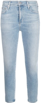 Citizens of Humanity High Rise Slim Fit Jeans