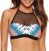 A.N.A Solid High Neck Swimsuit Top
