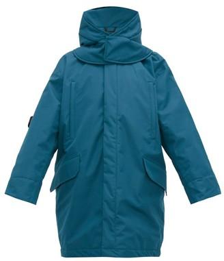 Raf Simons X Templa - Oversized Padded Shell Ski Jacket - Mens - Blue