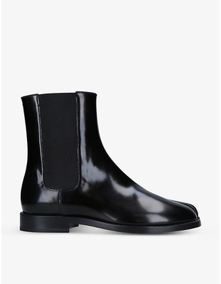 Maison Margiela Tabi split-toe leather Chelsea boots