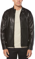 Perry Ellis Faux Leather Zip Jacket