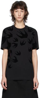 McQ Black Swallows T-Shirt