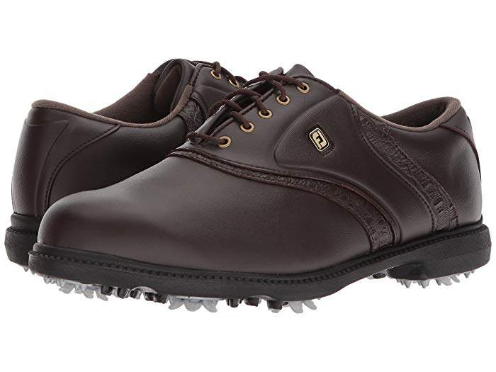 Foot Joy FootJoy Originals Cleated Traditional Plain Toe Saddle