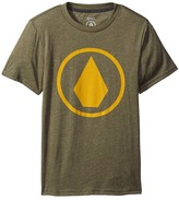 Volcom Solid Stone Short Sleeve Tee Boy's T Shirt